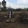 Terénní práce a úprava terénu Brno